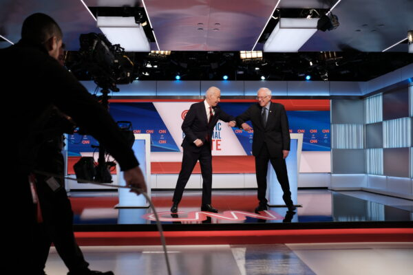 Biden, Sanders, and the coronavirus go head-to-head in Democratic debate