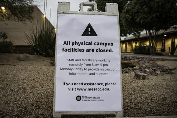 Maricopa District extends campus shutdown ahead of online conversion