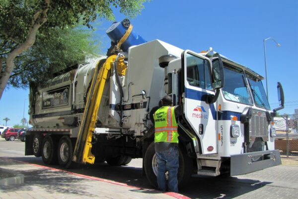 How China, COVID-19 and a structural fire crippled Mesa's recycling program