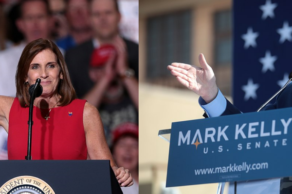 Martha McSally and Mark Kelly talk Trump, gun control and COVID-19 at their only pre-election debate