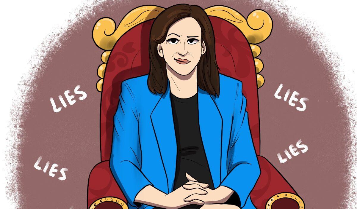 Martha McSally sits on a throne of lies