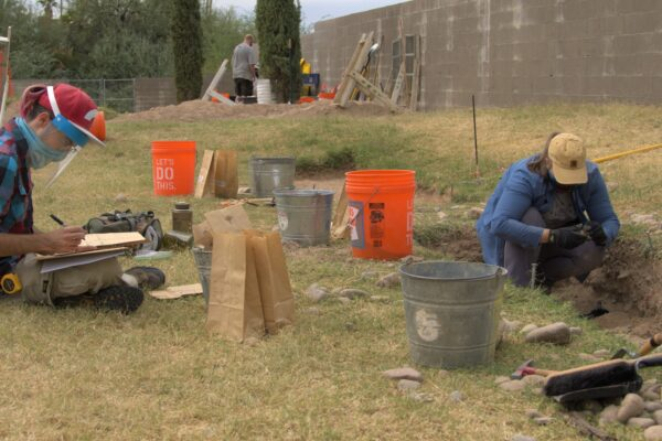 MCC archaeology students uncover Hohokam artifacts at Mesa Cemetery