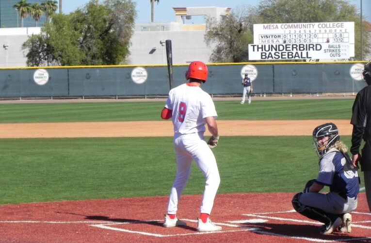 Thunderbird bats come alive in the home opener