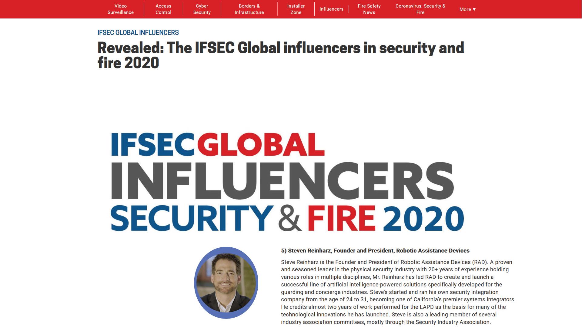 ifsecglobal top influencers 1920x1080 1