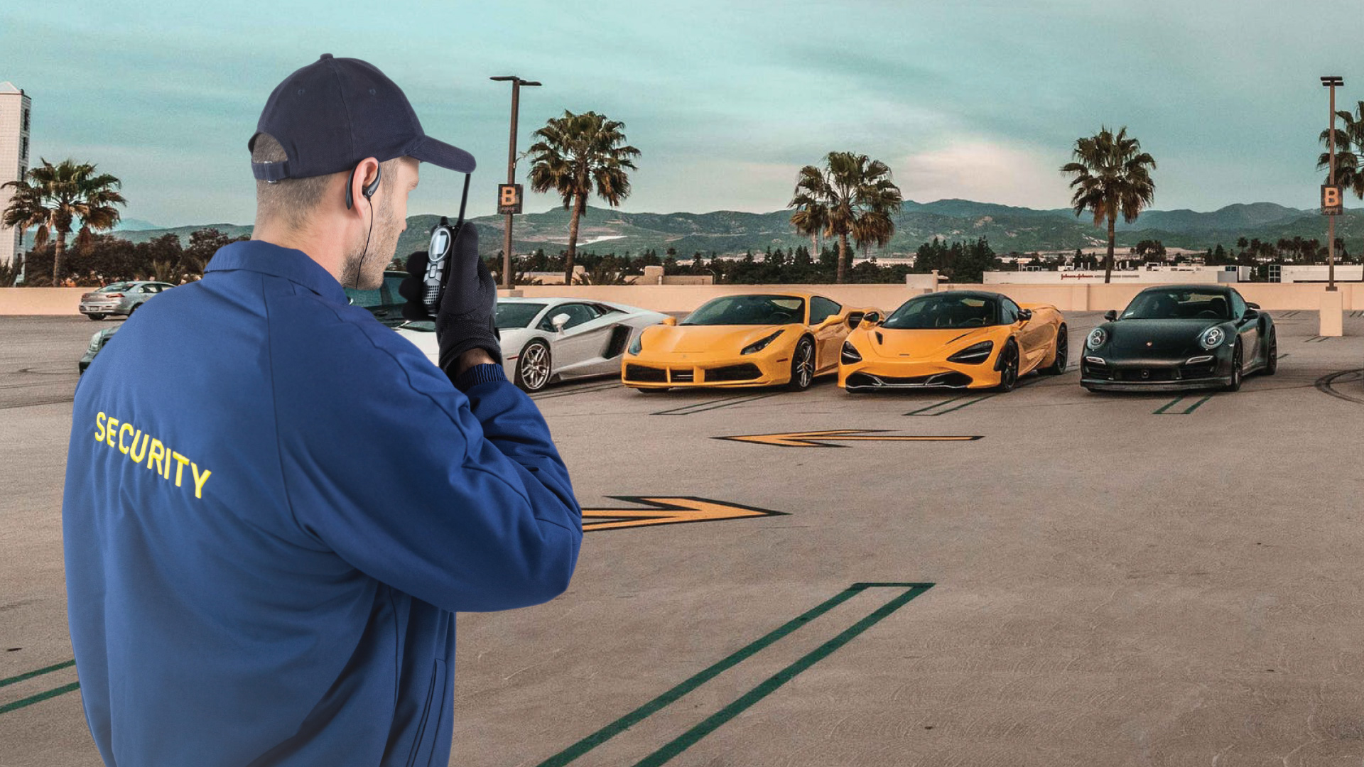 ars vs man guarding luxury car parking lot 1 1920x1080 1
