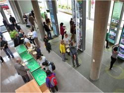 Oregon visitors center lobby