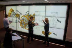 physics interactive wall