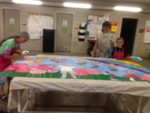 Community mural to be displayed in 4-H Children's Garden