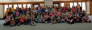 4-H Winterfest is one of Michigan 4-H's most popular workshops with attendance of over 150 4-H youth between the ages of 8 and 12. Nearly 150 4-H youth and volunteers attended 4-H Winterfest Feb. 2-3, 2018 at Kettunen Center.