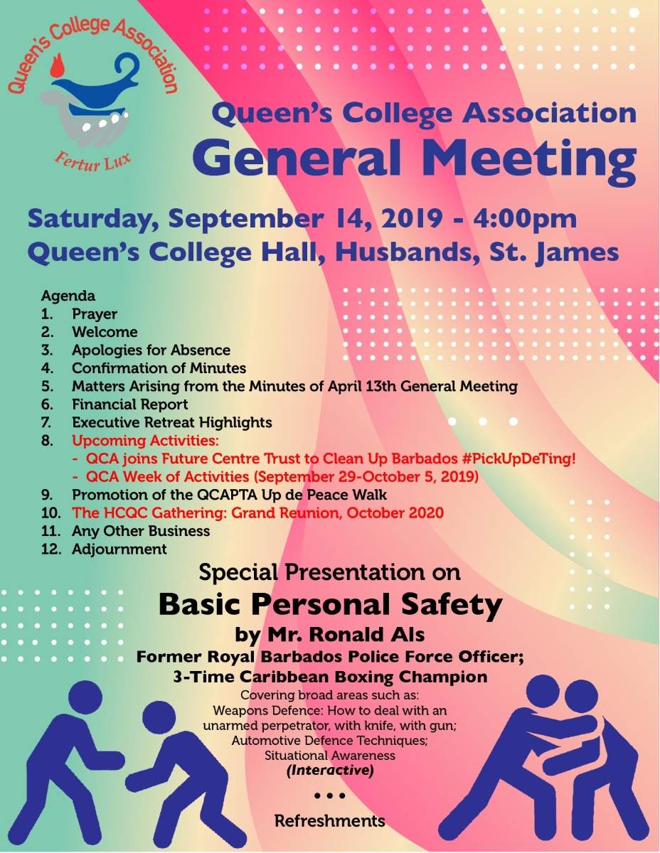 QCA General Meeting Flyer 02 Sept 2019 -01 resized