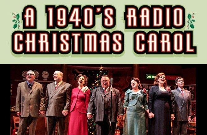 A 1940's Radio Christmas Carol