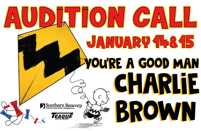 """Auditions for """"You're a Good Man Charlie Brown"""""""