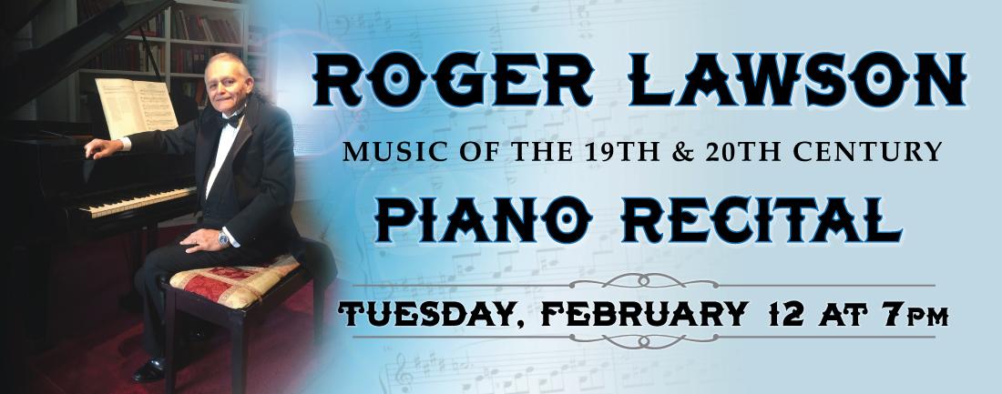 Roger Lawson Recital