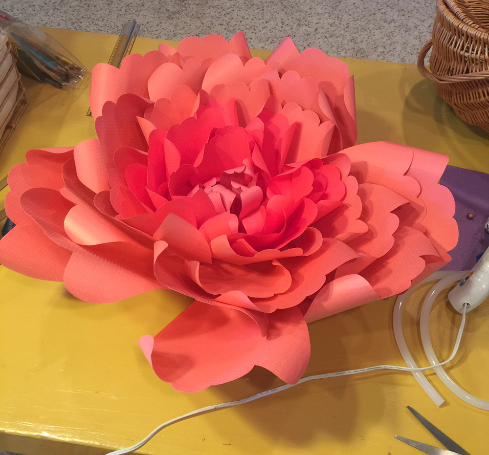 CLASS is FULL – Paper Flower Workshop • November 16 with Artist Kathy Stanley