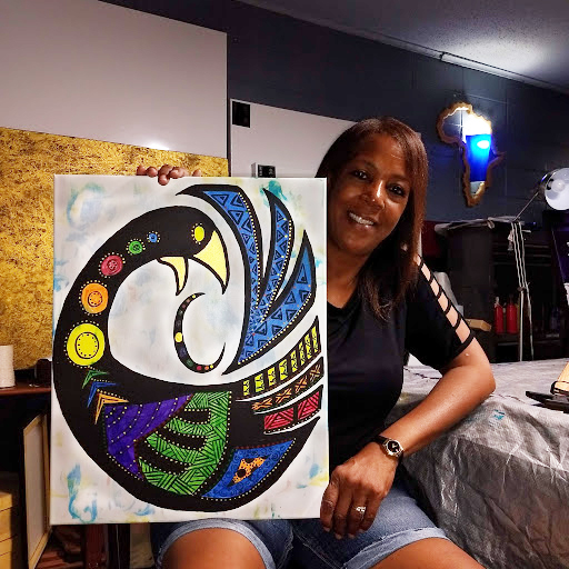 CLASS is FULL – Corks and Canvas • November 14 with artist Helene Lambert