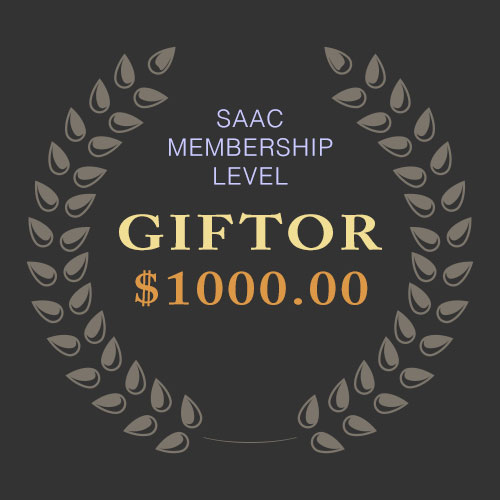 SAAC Membership - Giftor Level