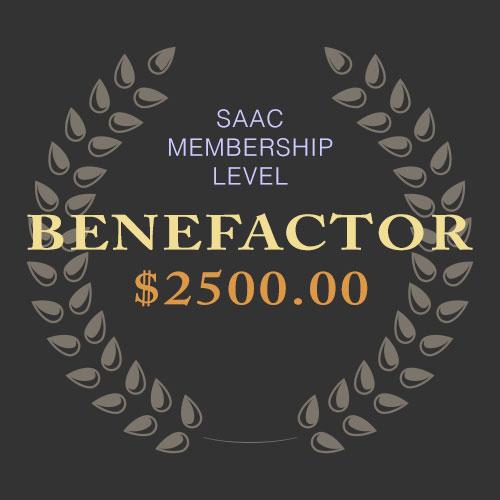 SAAC Membership - Benefactor Level