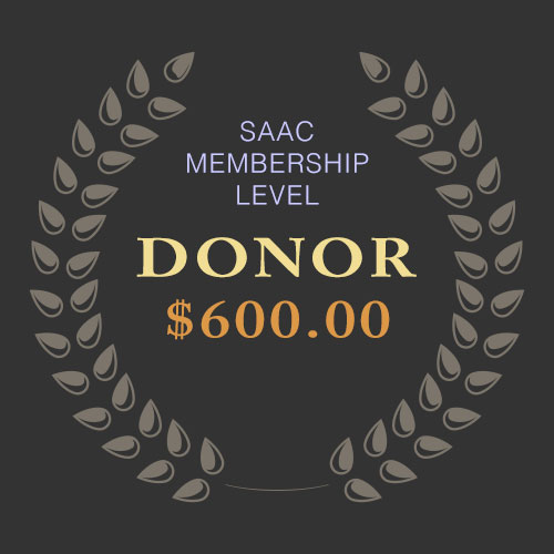 SAAC Membership - Donor Level