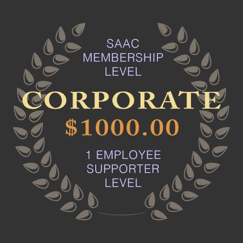 SAAC Corporate Membership - 1 Employee