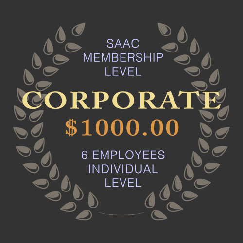 SAAC Corporate Membership - 6 Employees