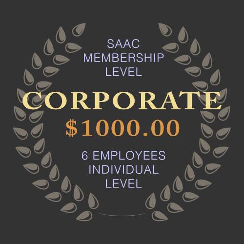 SAAC Corporate Membership - 6 Employees