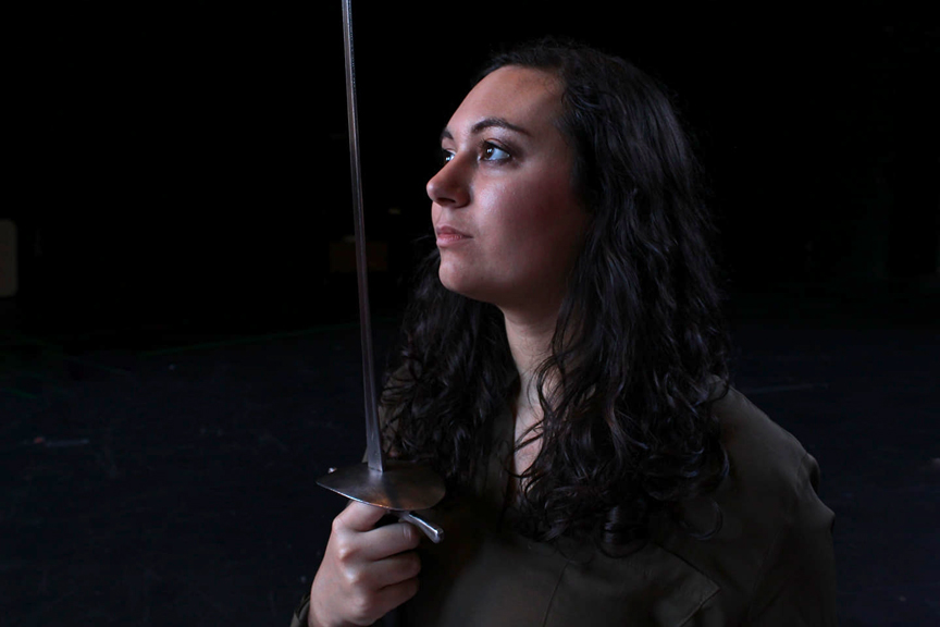 Free Stage Combat Workshop with Mickayle Blue • January 19