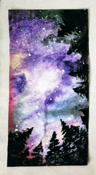 """Classes are FULL Corks and Canvas """"Night Sky"""" hosted on 2 dates • June 16 & June 18"""