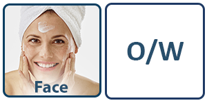 Face cream applied to show our enhanced skincare formulations with phytoglycogen