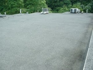New 4 ply Asphalt and Gravel Manville Total Roof System 3
