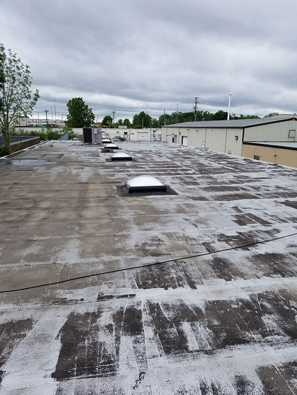 Complete Removal and Replacement, Cleveland, OH - Atlas industrial commercial roofing Cleveland Ohio 3