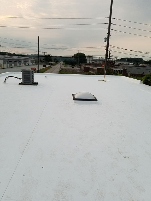 Complete Removal and Replacement, Cleveland, OH - Atlas industrial commercial roofing Cleveland Ohio 2