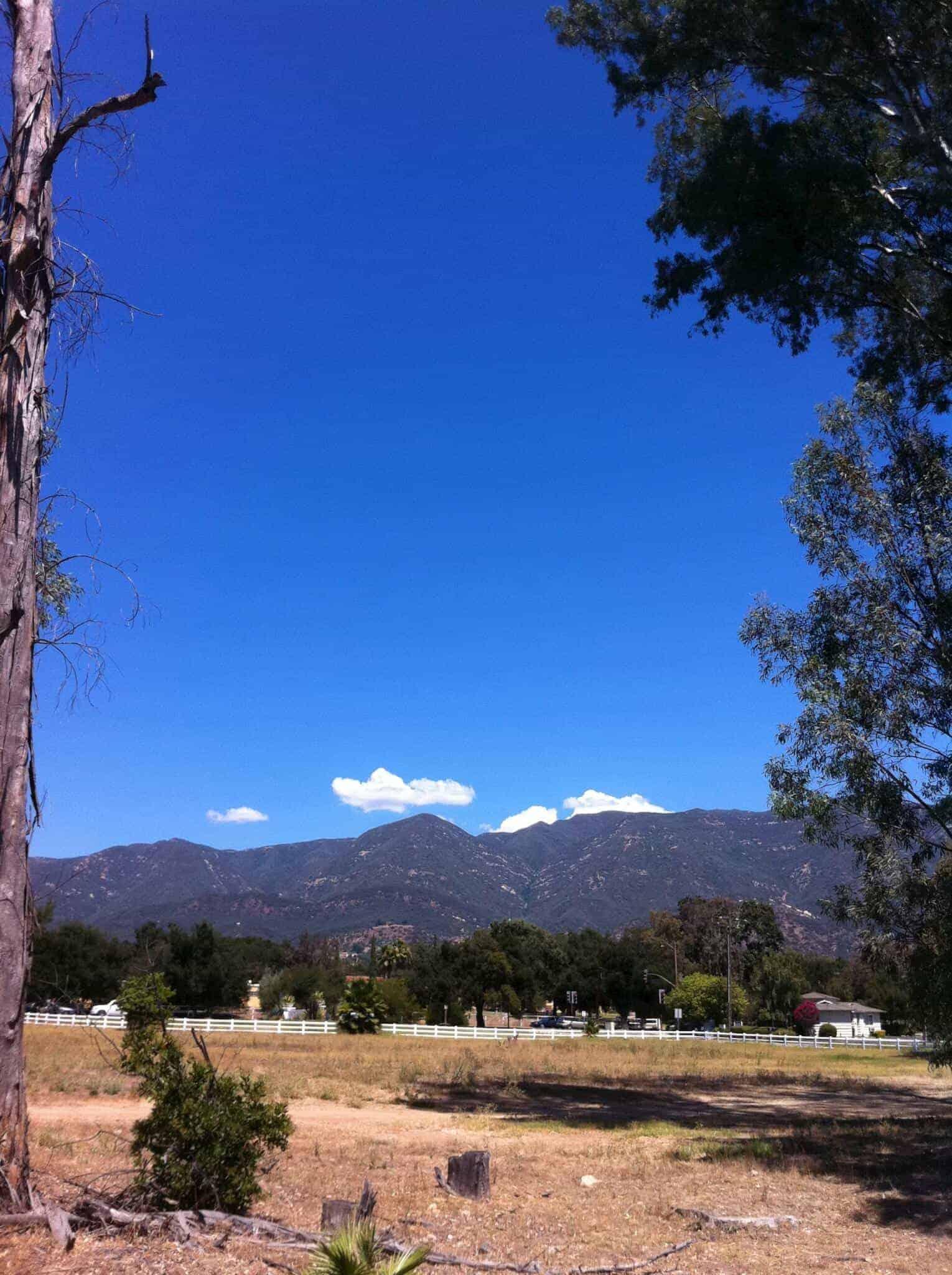 Blue Skies in Ojai
