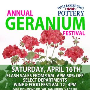 Geranium Festival