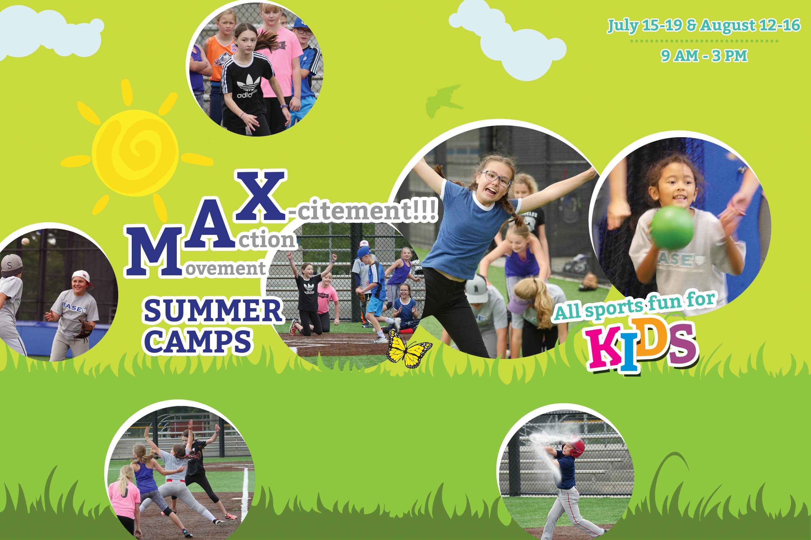 2019 MAX Summer Camps (7/15-19, 8/12-16)
