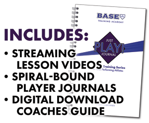 Bullets clarifying what is included with our Just Play! Mindset Training Series