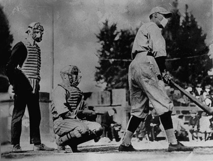 Baseball During the 1918 Spanish Flu