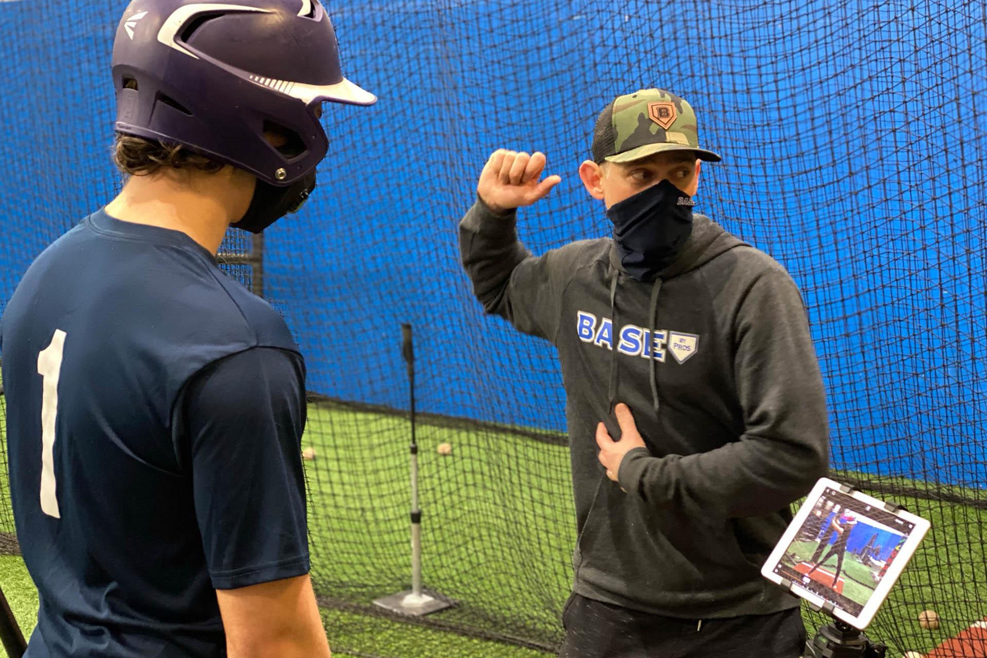 Brent Lillibridge Offering Baseball Hitting Instruction