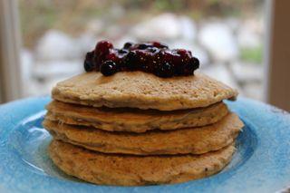 nutraphoria school of holistic nutrition gluten free oat pancakes