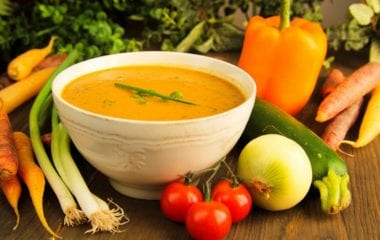 nutraphoria carrot ginger soup