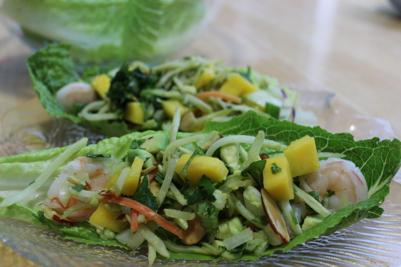 Recipepic lunch lettuce boats