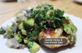 nutraphoria chicken lime avacado salsa recipe