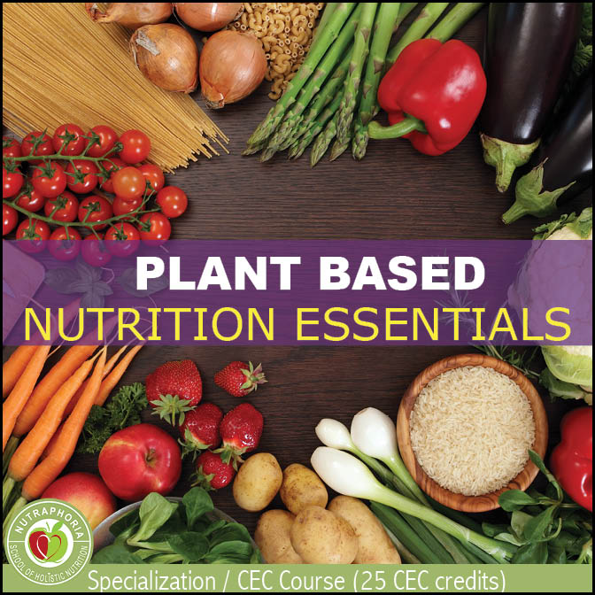 plant based diets online nutrition course nutraphoria