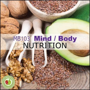 mind body nutrition course nutraphoria