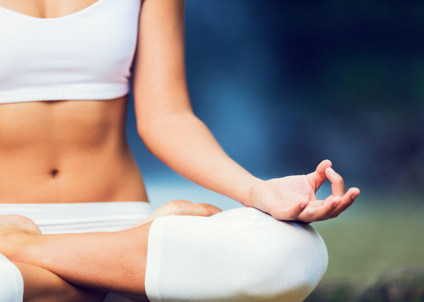 large - yoga woman