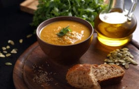 soup and bread nutraphoria school of holistic nutrition