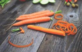 Peeled Carrots Nutraphoria