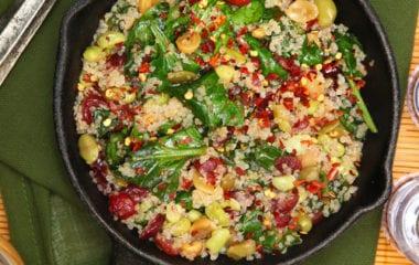 Baked Quinoa Nutraphoria