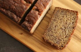 Homemade Banana Bread Nutraphoria