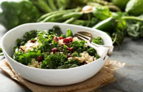 Quinoa and Kale Salad Nutraphoria