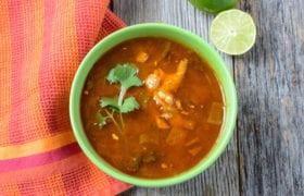 Healthy Tortilla Soup Nutraphoria